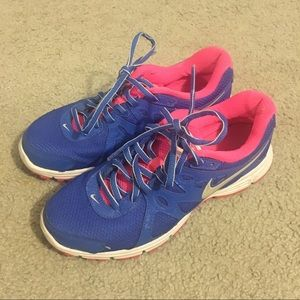 Nike Revolution 2 blue/pink sneakers
